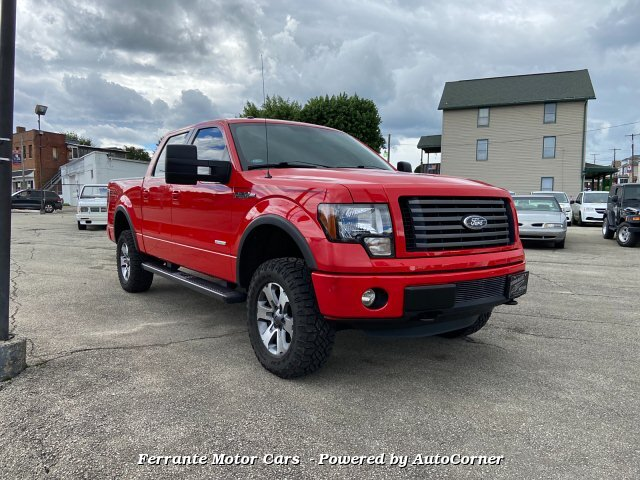 2011 Ford F-150 FX4 SuperCrew 5.5-ft. Bed 4WD 6-Speed Automa